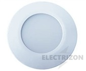 DOWNLIGHT LED 10W. PLATA. LUZ CÁLIDA 3000K