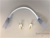 CABLE CONEXIÓN 2 TIRAS LED 220V IP65 2835 ALVERLAMP
