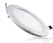DOWNLIGHT REDONDO LED 18W. BLANCO. LUZ BLANCA 5000K